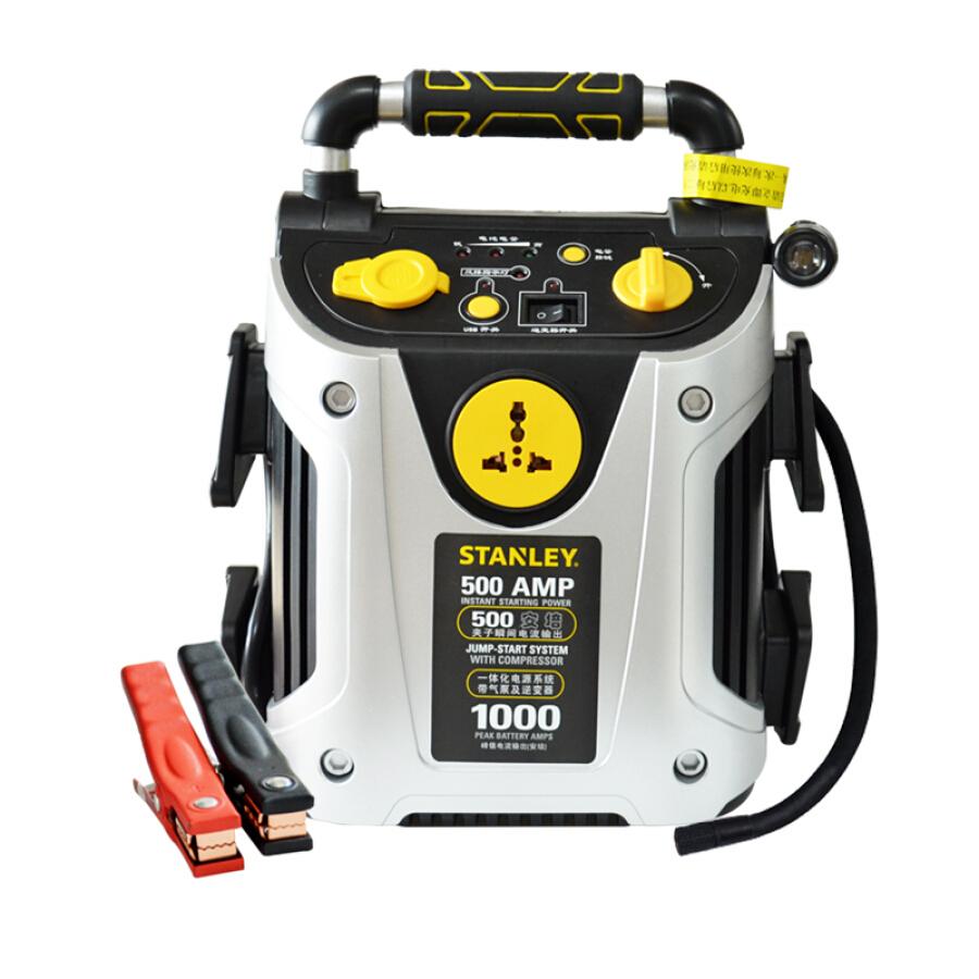 Thiết Bị Khởi Động Xe Hơi Khẩn Cấp 6 Trong 1 Stanley (STANLEY) J5CP 200W AC Đầu Ra 500A