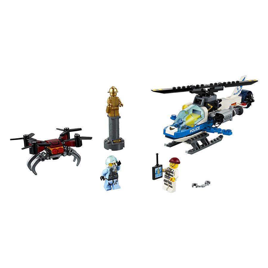 Truy Bắt Máy Bay Không Người Lái Lego 60207 - 1477724 , 2379202324046 , 62_15204896 , 839000 , Truy-Bat-May-Bay-Khong-Nguoi-Lai-Lego-60207-62_15204896 , tiki.vn , Truy Bắt Máy Bay Không Người Lái Lego 60207