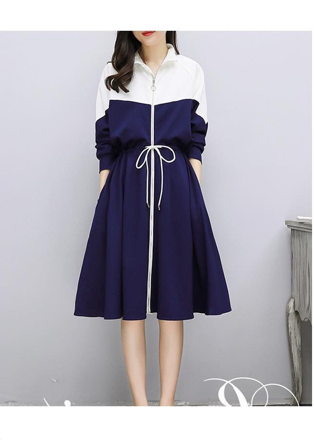 Chân váy xòe thể thao phong cách  thủy thủ chất vải cực đẹp hàng nhập khẩu