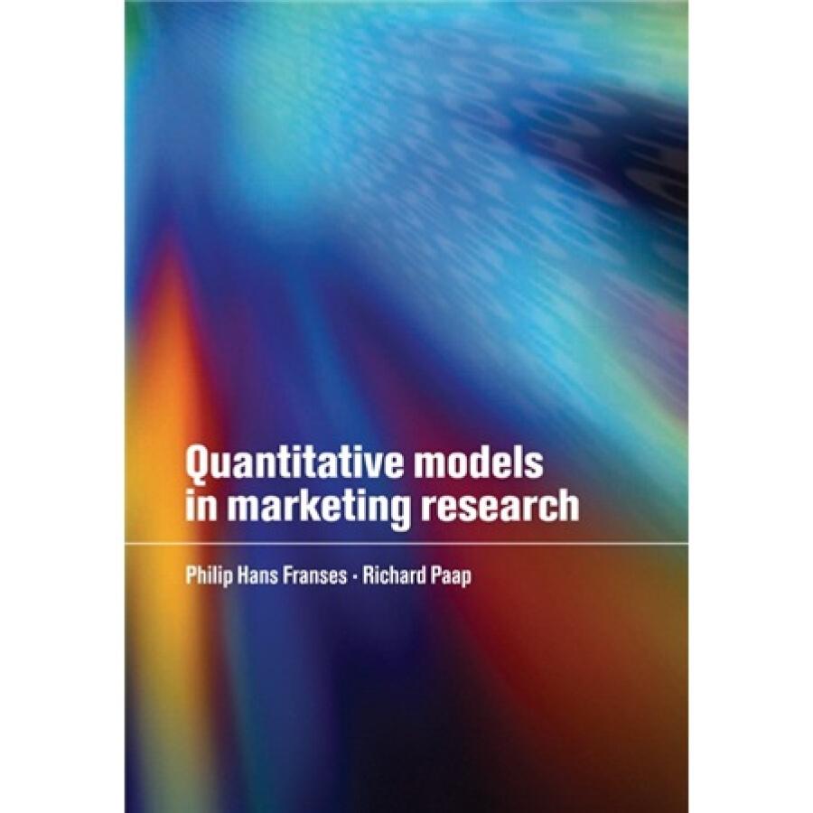 Quantitative Models in Marketing Research - 1235587 , 2693330581332 , 62_5266565 , 847000 , Quantitative-Models-in-Marketing-Research-62_5266565 , tiki.vn , Quantitative Models in Marketing Research
