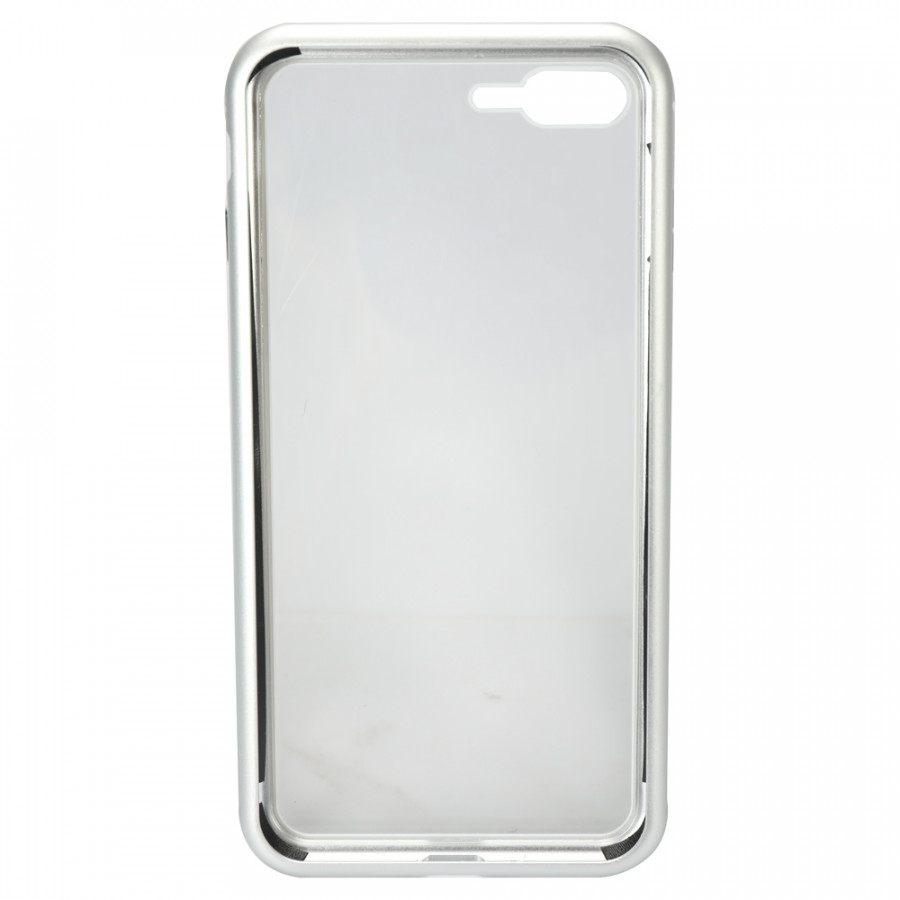 Metal-rimmed Mobile Phone Case Hardened Glass Magnetic Adsorption Protection Smartphone Cover Bumper Luxury Aluminum - 2289584 , 8947987930864 , 62_14703648 , 257000 , Metal-rimmed-Mobile-Phone-Case-Hardened-Glass-Magnetic-Adsorption-Protection-Smartphone-Cover-Bumper-Luxury-Aluminum-62_14703648 , tiki.vn , Metal-rimmed Mobile Phone Case Hardened Glass Magnetic Adsorption