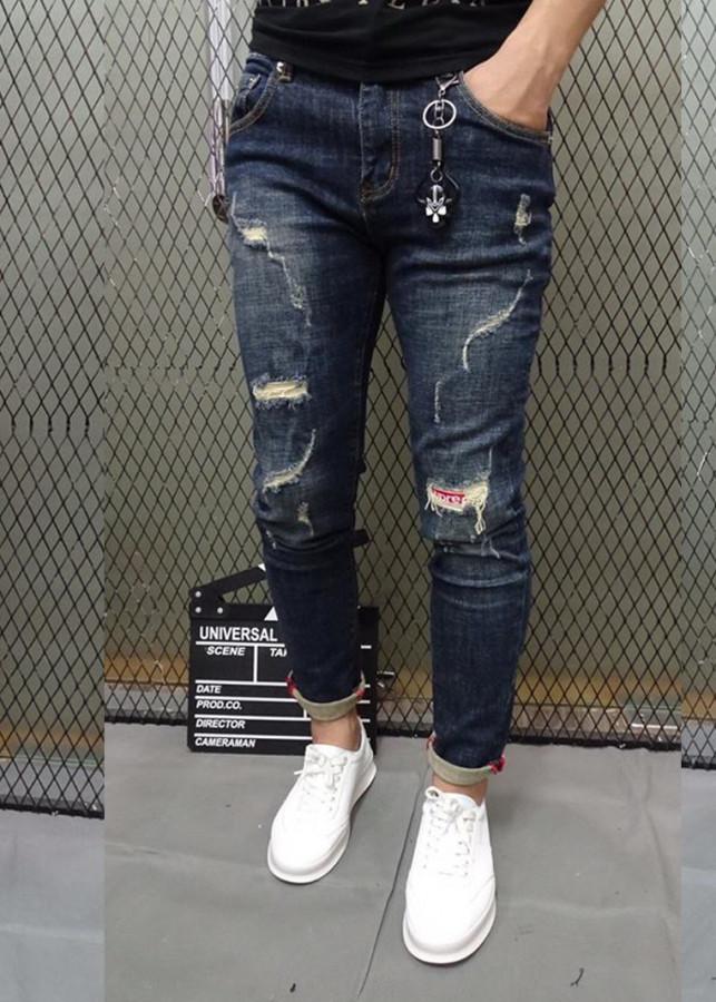 Quần jeans Nam Titishop Cao cấp QJ261