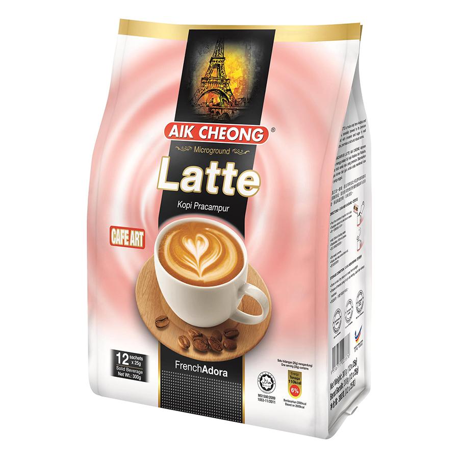 Cà Phê Latte Aik Cheong Latte Cafe Art (12 Gói x 25g) - 1035633 , 9864480704626 , 62_3111389 , 140000 , Ca-Phe-Latte-Aik-Cheong-Latte-Cafe-Art-12-Goi-x-25g-62_3111389 , tiki.vn , Cà Phê Latte Aik Cheong Latte Cafe Art (12 Gói x 25g)