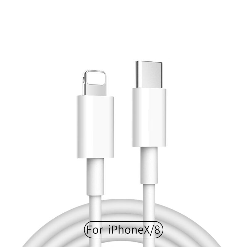 Cáp Sạc Nhanh Và Truyền Dữ Liệu USB-C/Lightning Cho iPhone 8 Plus/X Stiger 1m