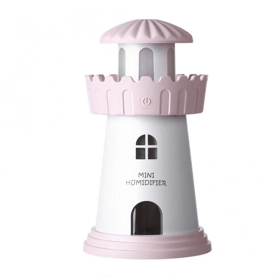 Máy xông tinh dầu làm thơm phòng Lighthouse Humidifer kiêm đèn ngủ màu sắc nhã nhặn - 844323 , 9198444708987 , 62_13452695 , 429000 , May-xong-tinh-dau-lam-thom-phong-Lighthouse-Humidifer-kiem-den-ngu-mau-sac-nha-nhan-62_13452695 , tiki.vn , Máy xông tinh dầu làm thơm phòng Lighthouse Humidifer kiêm đèn ngủ màu sắc nhã nhặn