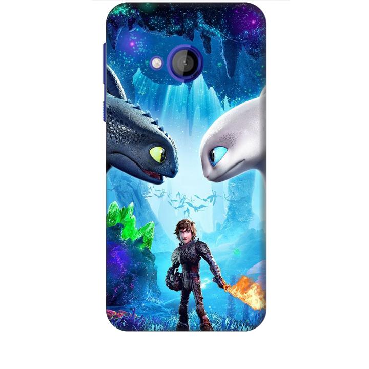 Ốp lưng dành cho điện thoại HTC U PLAY hình Baby and Dargon