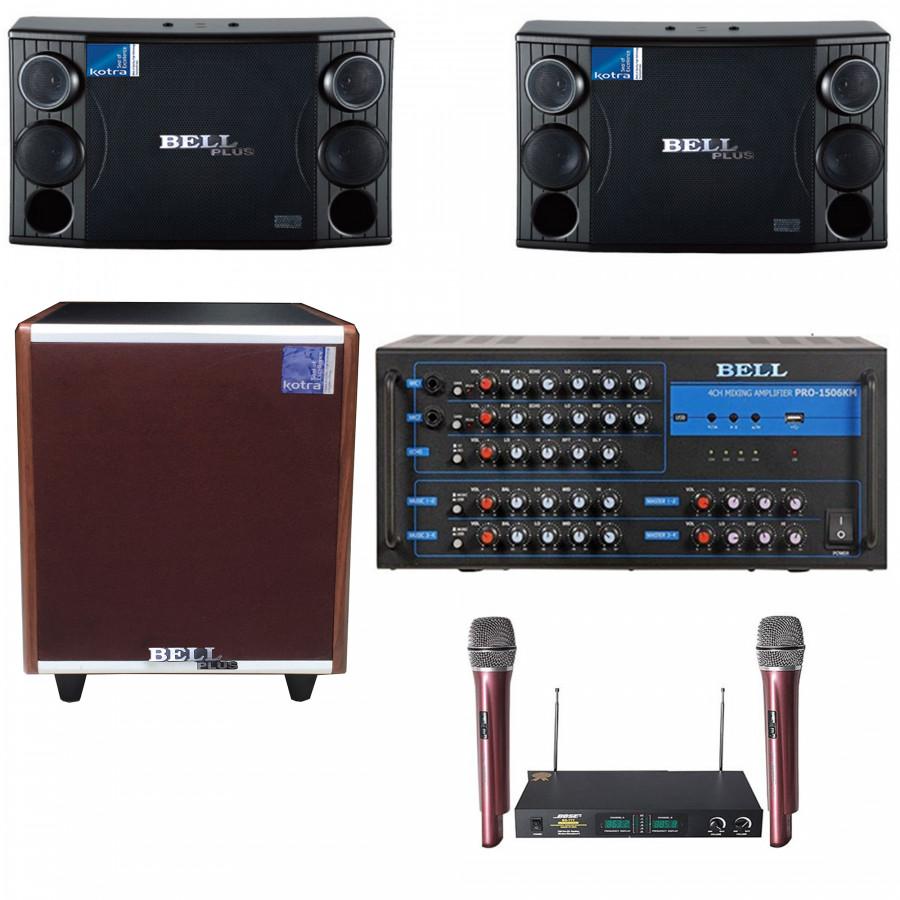 Dàn âm thanh karaoke gia đình BELLPlus PA - 1506KM - 1395184 , 8527099388175 , 62_6925001 , 17500000 , Dan-am-thanh-karaoke-gia-dinh-BELLPlus-PA-1506KM-62_6925001 , tiki.vn , Dàn âm thanh karaoke gia đình BELLPlus PA - 1506KM