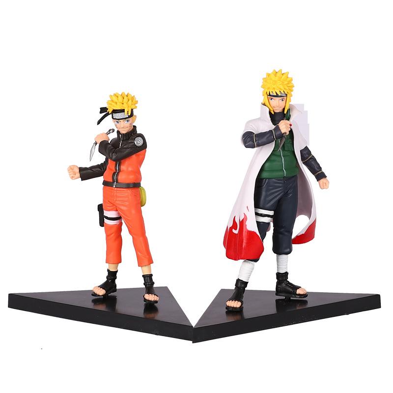 Bộ 2 mô hình nhân vật Naruto vs Minato cực đẹp 16cm