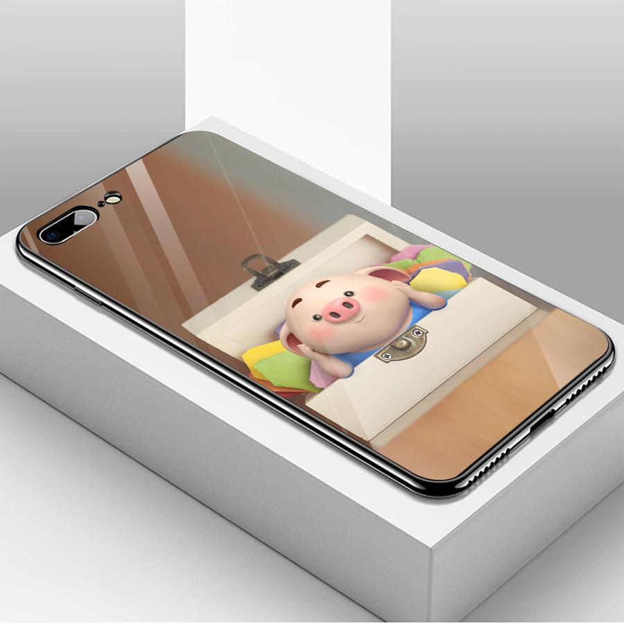 Ốp kính cường lực dành cho điện thoại iPhone 7/8 Plus - heo hồng - hh184 - 1739637 , 7586668719872 , 62_13626327 , 204000 , Op-kinh-cuong-luc-danh-cho-dien-thoai-iPhone-7-8-Plus-heo-hong-hh184-62_13626327 , tiki.vn , Ốp kính cường lực dành cho điện thoại iPhone 7/8 Plus - heo hồng - hh184