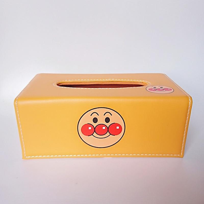 Hộp đựng giấy ăn bọc da Pu cao cấp Royal Tissue Box chú hề + tặng 01 quyển sổ tay