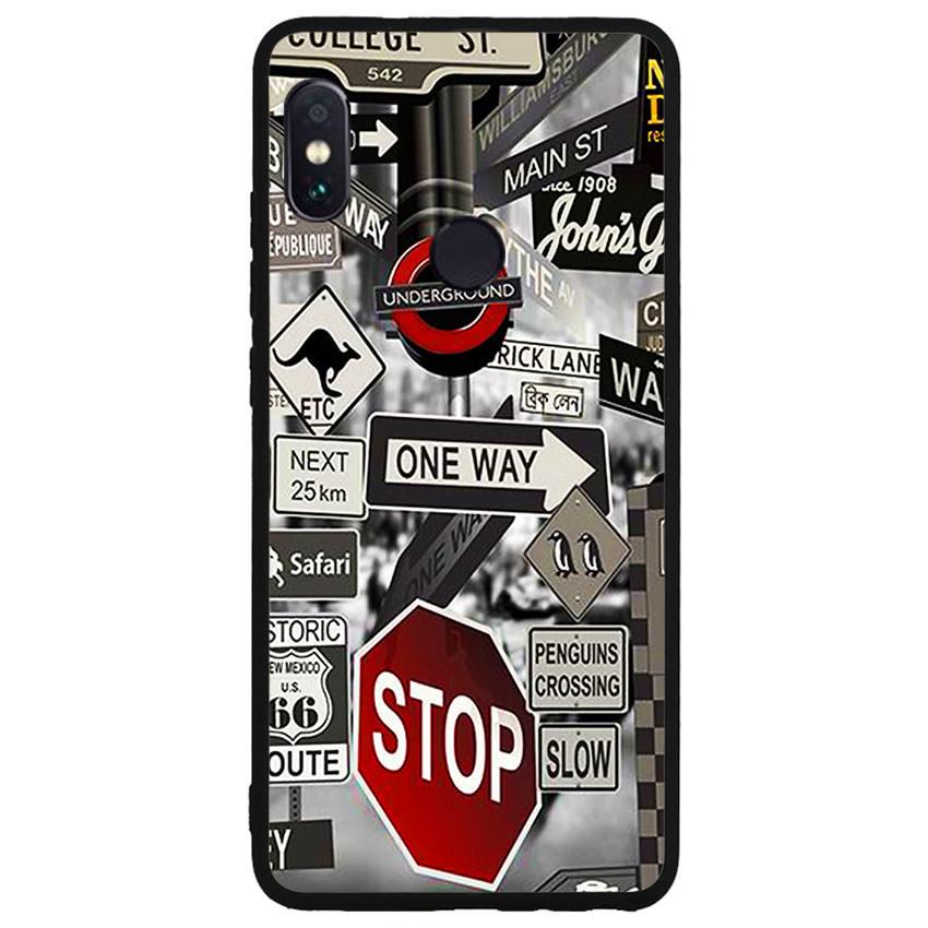 Ốp lưng nhựa cứng viền dẻo TPU cho điện thoại Xiaomi Redmi Note 5 -Street 01