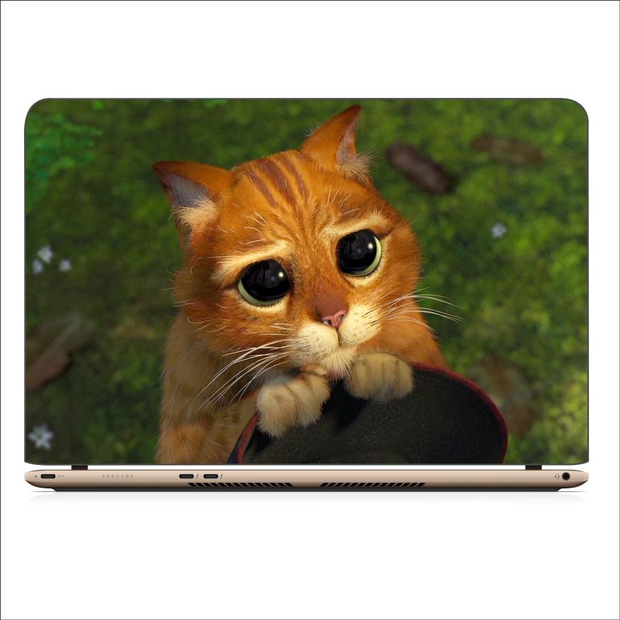 Miếng Dán Skin In Decal Dành Cho Laptop - Mèo Dihia 4 - Mã 061118
