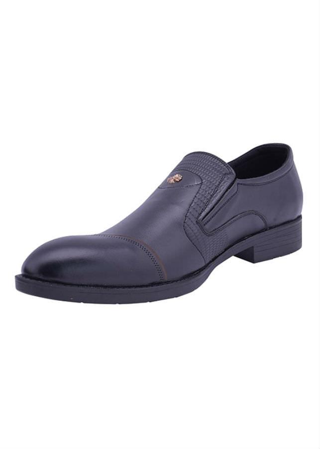 Giày Tây Nam Da Bò G186D - Đen