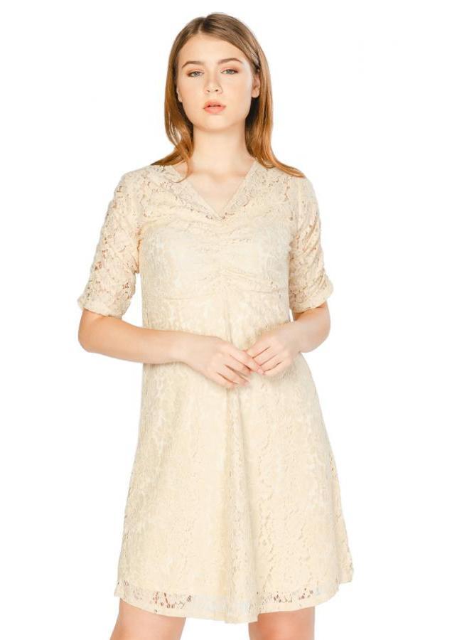 Đầm cổ V (FreeSize)