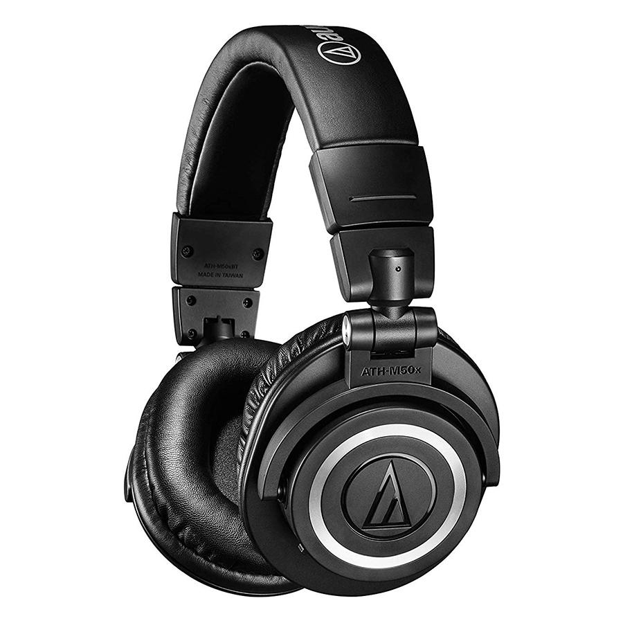 Tai Nghe Bluetooth Chụp Tai Audio Technica ATH-M50xBT - Hàng Chính Hãng - 1596175 , 3149871955952 , 62_13160386 , 5690000 , Tai-Nghe-Bluetooth-Chup-Tai-Audio-Technica-ATH-M50xBT-Hang-Chinh-Hang-62_13160386 , tiki.vn , Tai Nghe Bluetooth Chụp Tai Audio Technica ATH-M50xBT - Hàng Chính Hãng
