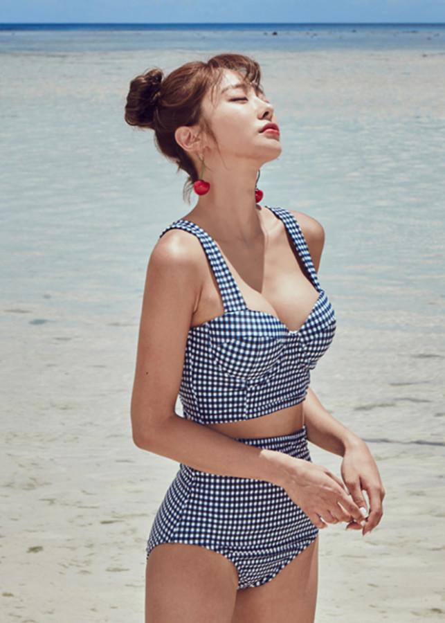 Bikini 2 Mảnh Hè Họa Tiết Ca Rô May_MAT103 - 842897 , 1378386390992 , 62_13296139 , 450000 , Bikini-2-Manh-He-Hoa-Tiet-Ca-Ro-May_MAT103-62_13296139 , tiki.vn , Bikini 2 Mảnh Hè Họa Tiết Ca Rô May_MAT103
