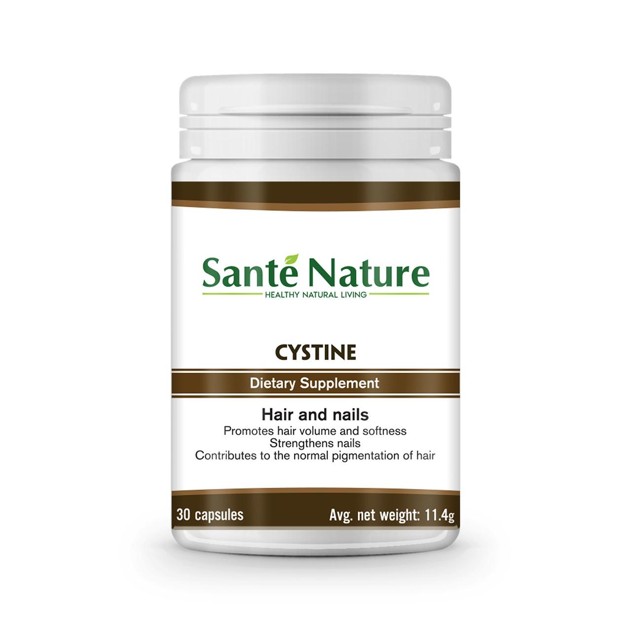 Thực phẩm bảo vệ sức khỏe tự nhiên Giúp tóc, móng chắc khỏe Cystine