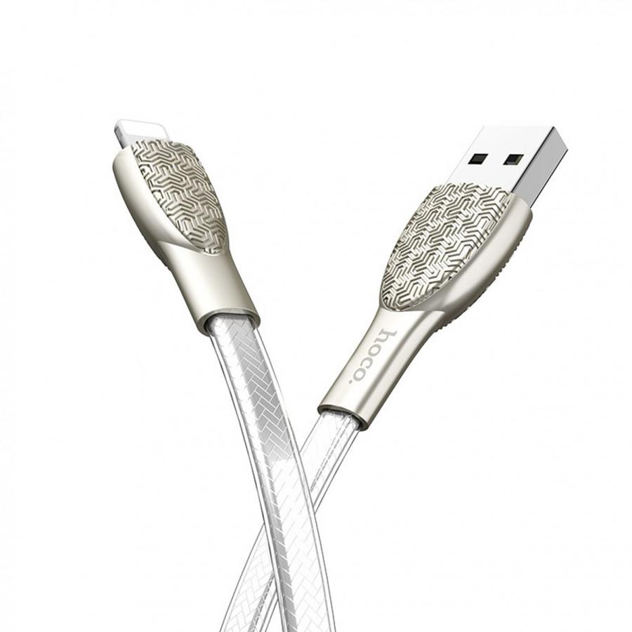 Cáp Sạc USB Sang Lightning Danh Cho IOS Hoco U52 - Dài 1.2M