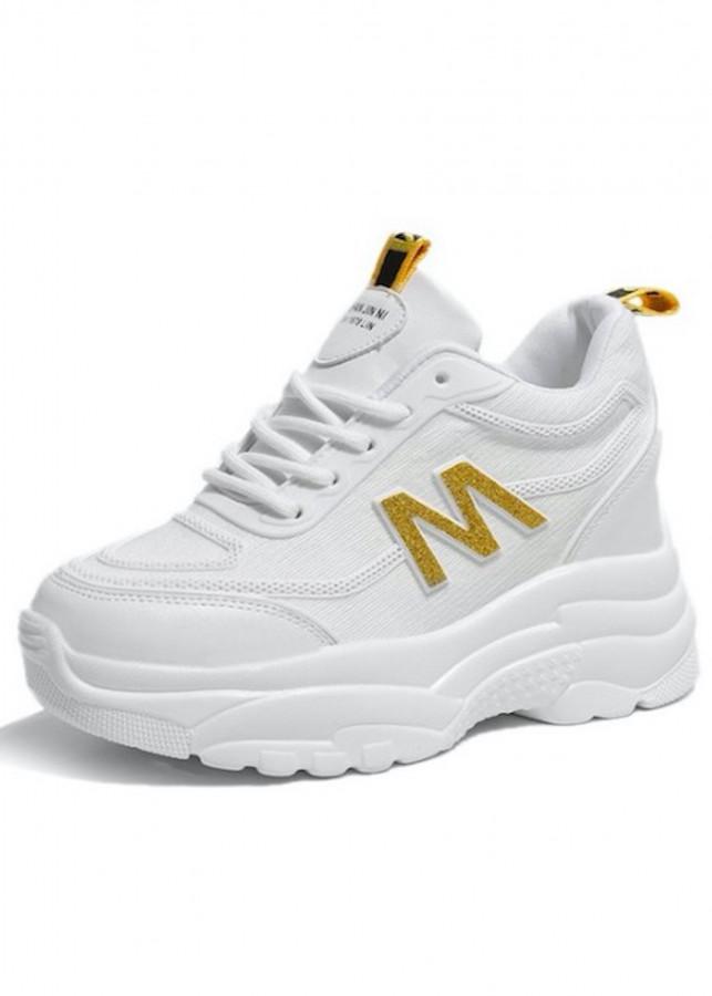 Giày thể thao độn 10p da cao cấp siêu mềm siêu nhẹ màu trắng - 1207721 , 9335430819825 , 62_7713531 , 1200000 , Giay-the-thao-don-10p-da-cao-cap-sieu-mem-sieu-nhe-mau-trang-62_7713531 , tiki.vn , Giày thể thao độn 10p da cao cấp siêu mềm siêu nhẹ màu trắng