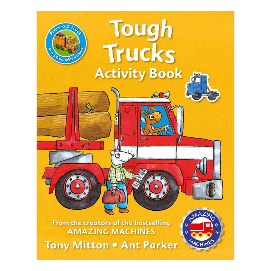 Amazing Machines Tough Trucks Activity Book - 1081321 , 7057125354788 , 62_3919461 , 165000 , Amazing-Machines-Tough-Trucks-Activity-Book-62_3919461 , tiki.vn , Amazing Machines Tough Trucks Activity Book