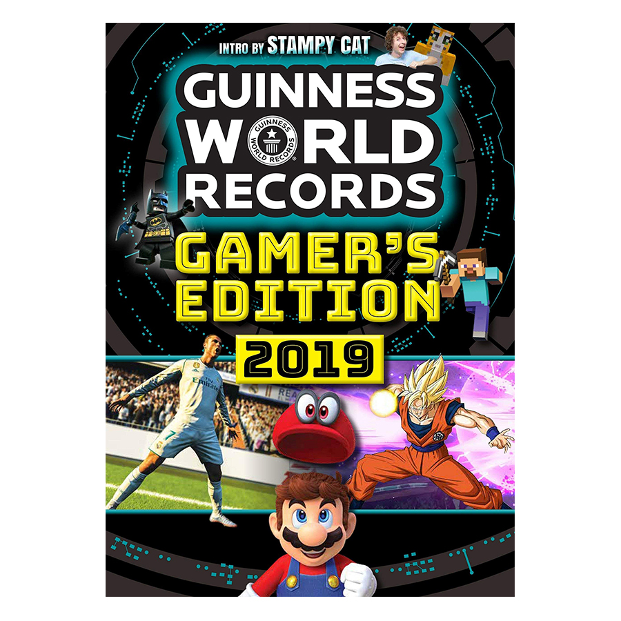 Guinness World Records Gamers 2019 - 773990 , 3441274974944 , 62_10756993 , 468000 , Guinness-World-Records-Gamers-2019-62_10756993 , tiki.vn , Guinness World Records Gamers 2019