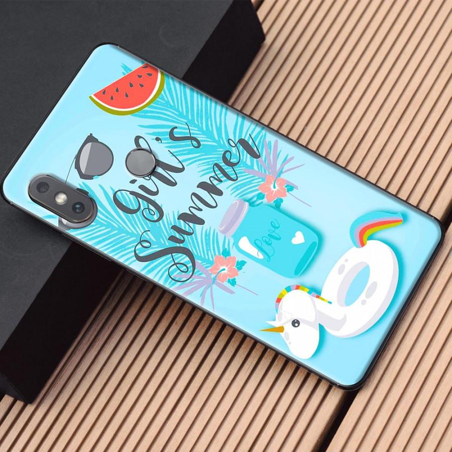 Ốp lưng dành cho Xiaomi Mi Mix 2S mẫu Chữ summer
