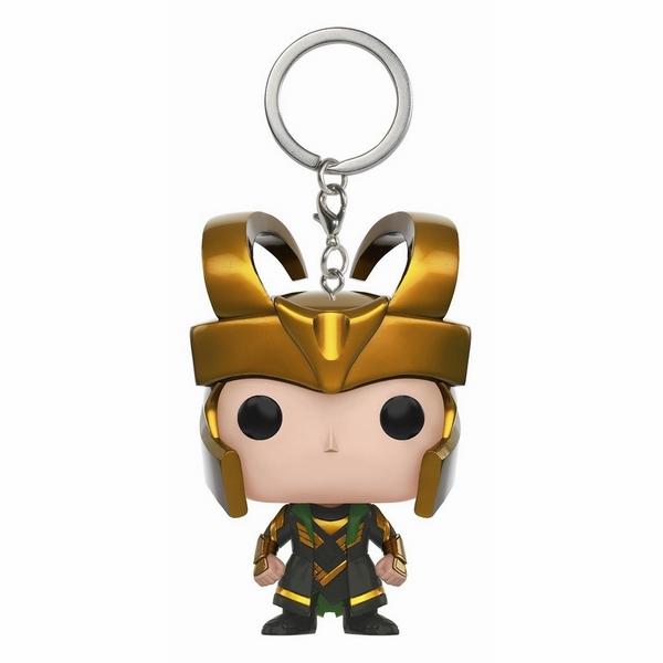 Móc Khóa Siêu Anh Hùng Loki Bé