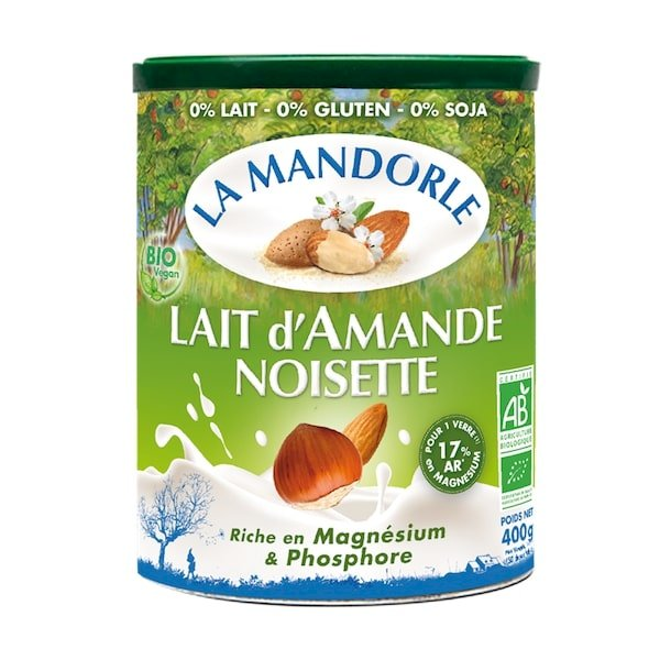 Sữa bột hạnh nhân hạt phỉ hữu cơ La mandorle 400g - 1172776 , 6027802989399 , 62_4742339 , 644000 , Sua-bot-hanh-nhan-hat-phi-huu-co-La-mandorle-400g-62_4742339 , tiki.vn , Sữa bột hạnh nhân hạt phỉ hữu cơ La mandorle 400g
