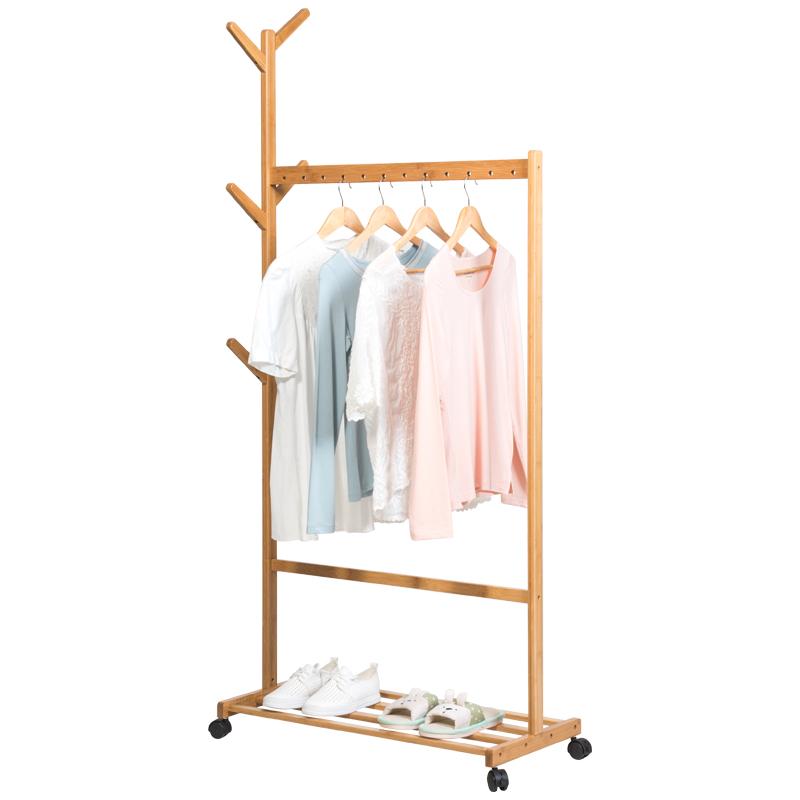 Giá treo quần áo bằng gỗ có bánh xe GS0205 - 756473 , 7306114518688 , 62_13820419 , 699000 , Gia-treo-quan-ao-bang-go-co-banh-xe-GS0205-62_13820419 , tiki.vn , Giá treo quần áo bằng gỗ có bánh xe GS0205