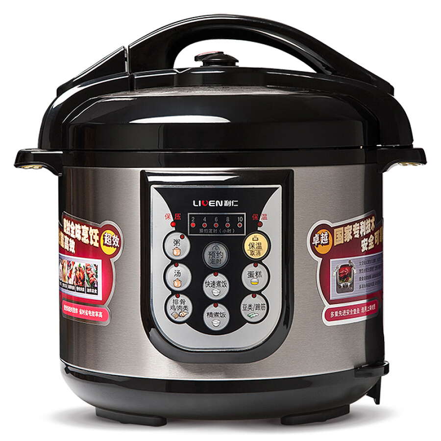 Liven electric pressure cooker intelligent control ten protection can be separated from the top cover DNG-5001 5L pressure cooker - 1586073 , 5700772937485 , 62_10498492 , 1279000 , Liven-electric-pressure-cooker-intelligent-control-ten-protection-can-be-separated-from-the-top-cover-DNG-5001-5L-pressure-cooker-62_10498492 , tiki.vn , Liven electric pressure cooker intelligent con