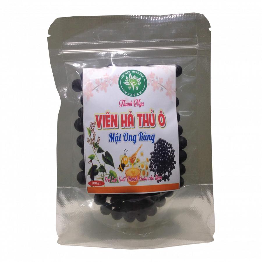 Viên hà thủ ô – mật ong rừng Thanh Nga 100g