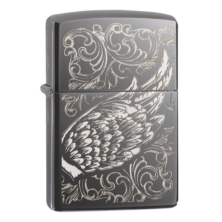 Bật Lửa Zippo Filigree Flame and Wing Design 29881