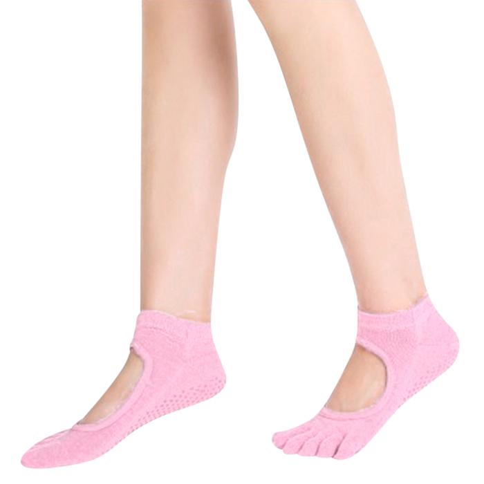 Vớ Yoga Cotton Chống Trượt Cho Nữ