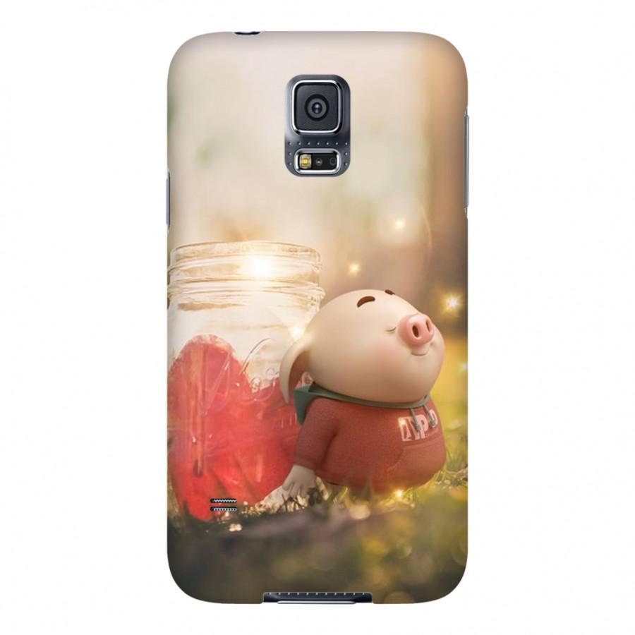 Ốp Lưng Cho Điện Thoại Samsung Galaxy S5 - Mẫu heocon 79