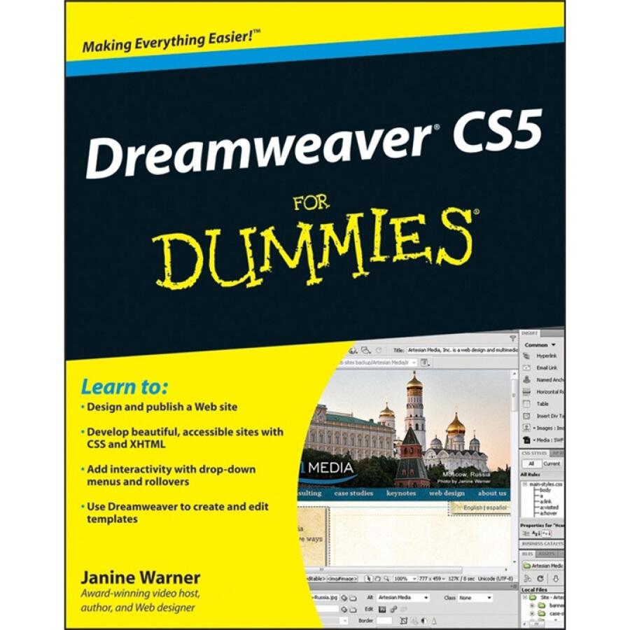 Dreamweaver CS5 for Dummies -Dreamweaver CS5 - 1240763 , 8842445862193 , 62_5280709 , 552000 , Dreamweaver-CS5-for-Dummies-Dreamweaver-CS5-62_5280709 , tiki.vn , Dreamweaver CS5 for Dummies -Dreamweaver CS5