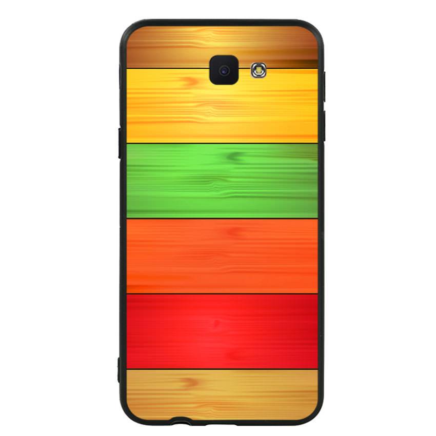 Ốp lưng nhựa cứng viền dẻo TPU cho điện thoại Samsung Galaxy J5 Prime - Sắc Màu