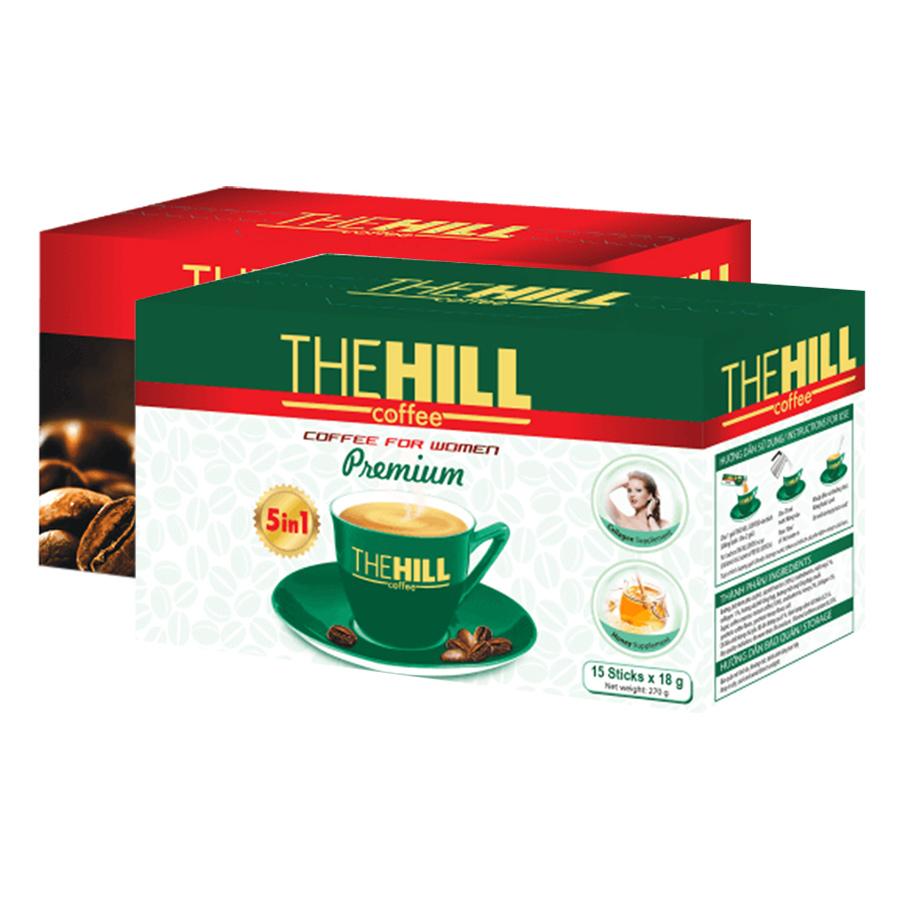 Combo Cà Phê Hòa Tan The Hill Coffee Premium (216g) + Cà Phê Cho Phái Nữ The Hill Coffee Premium (270g) - 1986629 , 3658094109771 , 62_753358 , 95000 , Combo-Ca-Phe-Hoa-Tan-The-Hill-Coffee-Premium-216g-Ca-Phe-Cho-Phai-Nu-The-Hill-Coffee-Premium-270g-62_753358 , tiki.vn , Combo Cà Phê Hòa Tan The Hill Coffee Premium (216g) + Cà Phê Cho Phái Nữ The Hill Co
