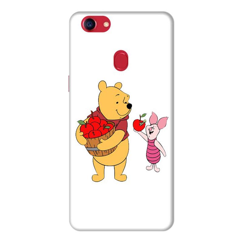 Ốp Lưng Dành Cho Điện Thoai Oppo F7 Gấu Pooh - Mẫu 4
