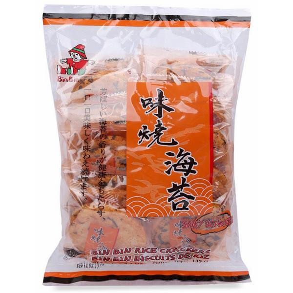 Bánh Gạo Rong Biển Cay Bin Bin (135g) - 1098355 , 6297204643858 , 62_3942703 , 35600 , Banh-Gao-Rong-Bien-Cay-Bin-Bin-135g-62_3942703 , tiki.vn , Bánh Gạo Rong Biển Cay Bin Bin (135g)