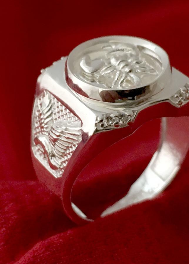 Nhẫn nam bọc cạp  bạc ta cao cấp Bạc QTJ - NA18(BẠC) - 1020642 , 1732529087352 , 62_5896471 , 399000 , Nhan-nam-boc-cap-bac-ta-cao-cap-Bac-QTJ-NA18BAC-62_5896471 , tiki.vn , Nhẫn nam bọc cạp  bạc ta cao cấp Bạc QTJ - NA18(BẠC)