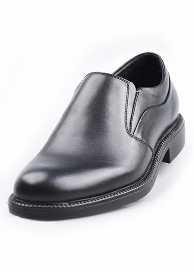 Giày Lười Nam Da Maple 030 - Đen Mờ