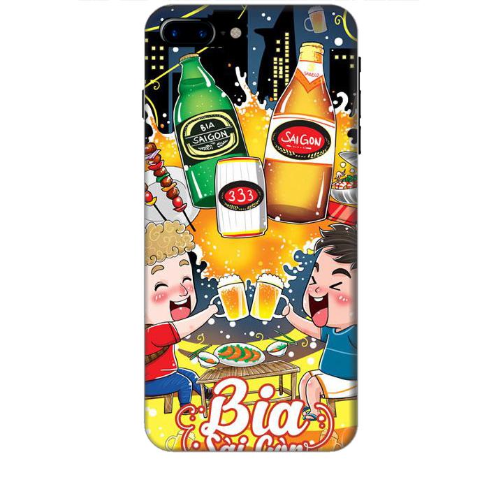 Ốp lưng dành cho điện thoại IPHONE 8 PLUS Hình Bia Sài Gòn - Hàng chính hãng