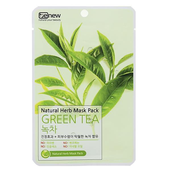 Mặt nạ trà xanh trị mụn trắng da hàn quốc benew ( 22ml/ gói)