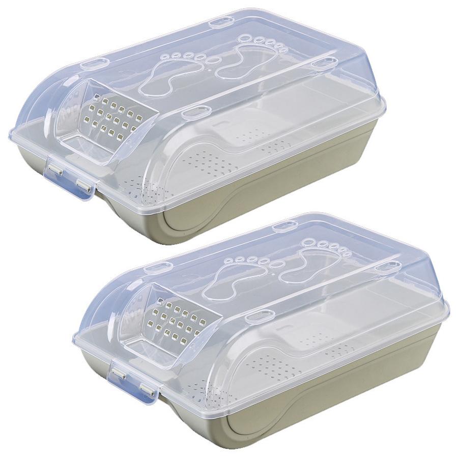 Bộ 2 hộp đựng giày dép bằng nhựa ABS thông minh, tiện lợi GS0029 - 1541846 , 6840755334074 , 62_14340756 , 199000 , Bo-2-hop-dung-giay-dep-bang-nhua-ABS-thong-minh-tien-loi-GS0029-62_14340756 , tiki.vn , Bộ 2 hộp đựng giày dép bằng nhựa ABS thông minh, tiện lợi GS0029