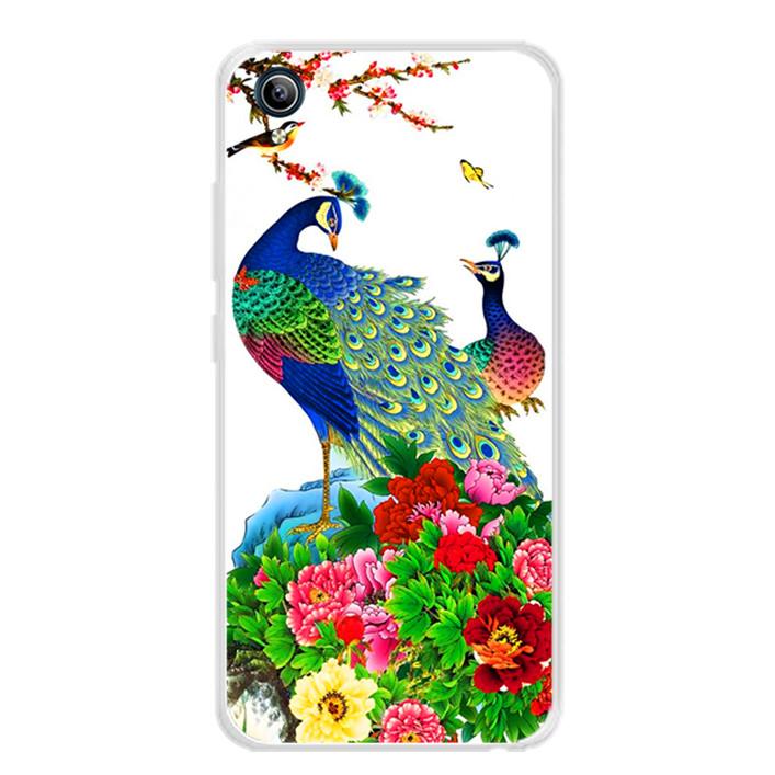Ốp lưng dẻo cho điện thoại Vivo Y91C - 0149 CHIMCONG02 - Hàng Chính Hãng