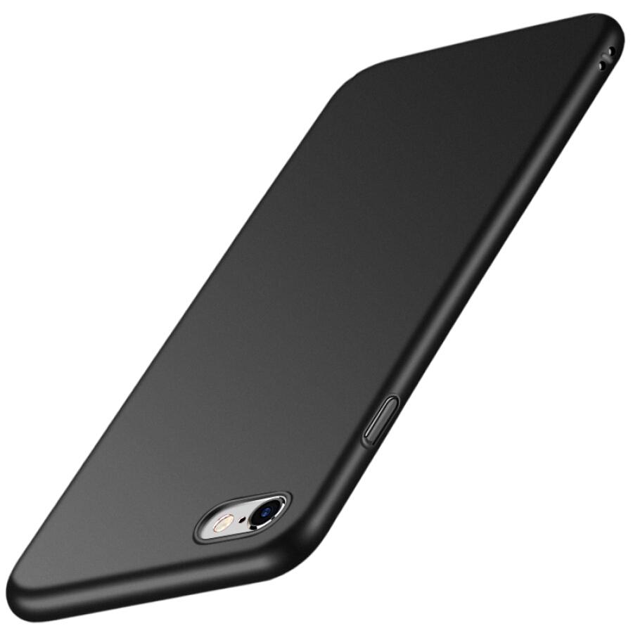Ốp Nhựa Cứng Cho iPhone 6/ 6S Plus Freeson - Đen Nhám