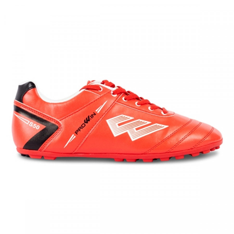 Giày Đá Bóng Sân Cỏ Nhân Tạo Prowin S50 (Màu Đỏ)+ tặng kèm tất đá bóng