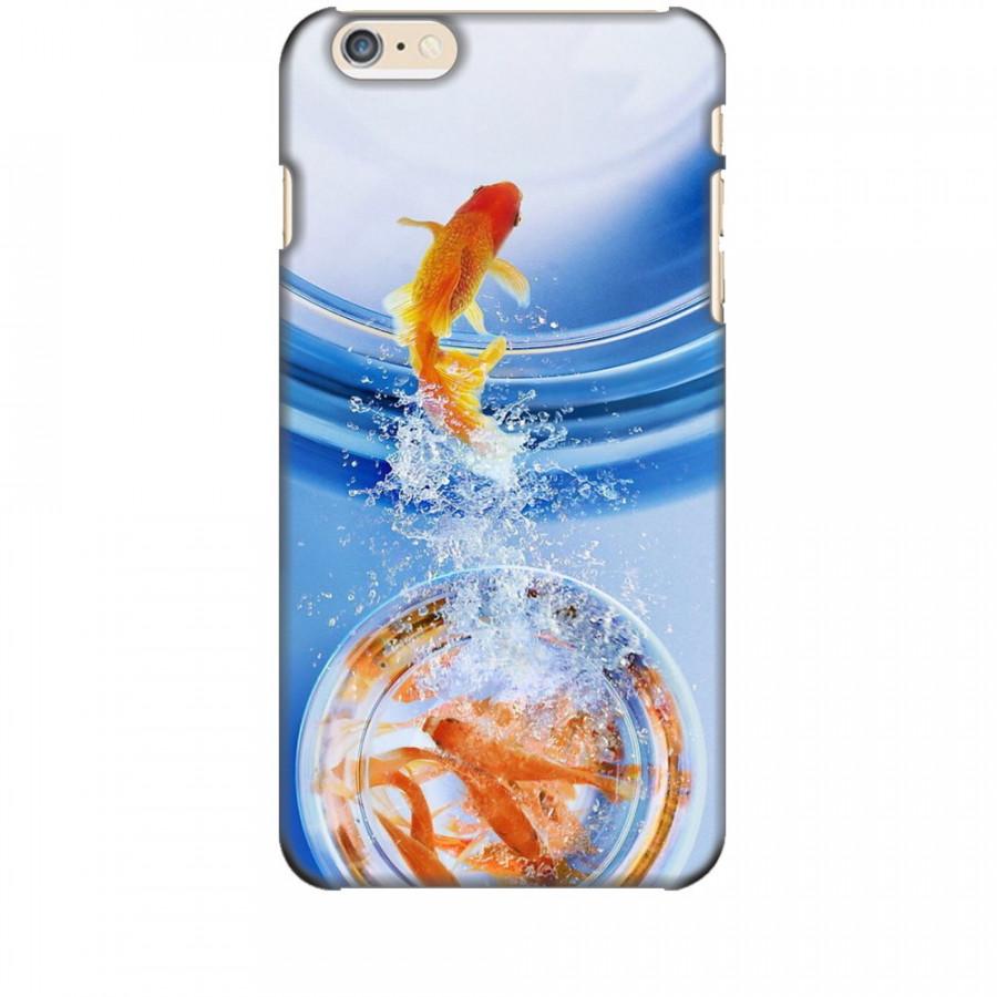 Ốp lưng dành cho điện thoại IPHONE 6 PLUS Cá Betta Vàng
