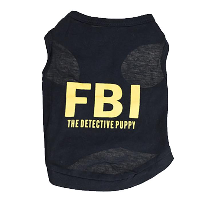 Áo FBI cho chó mèo - 9667316 , 6951329062849 , 62_16159761 , 350000 , Ao-FBI-cho-cho-meo-62_16159761 , tiki.vn , Áo FBI cho chó mèo