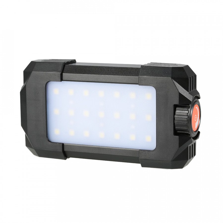 500LM Outdoor Rechargeable Portable 27 LEDs Lantern Lamp Flasher Flashlight  Light with USB Input Output for Outdoor